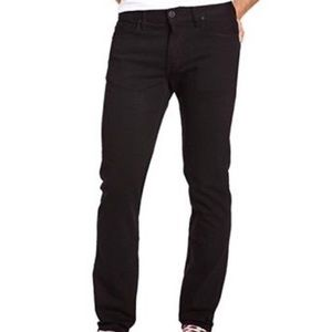 Hurley Jeans - Hurley 84 Slim Overdye Black